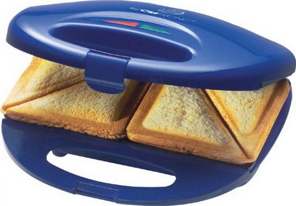 Clatronic Sandwichtoaster / Sandwich-Toaster ST 3477 BLAU
